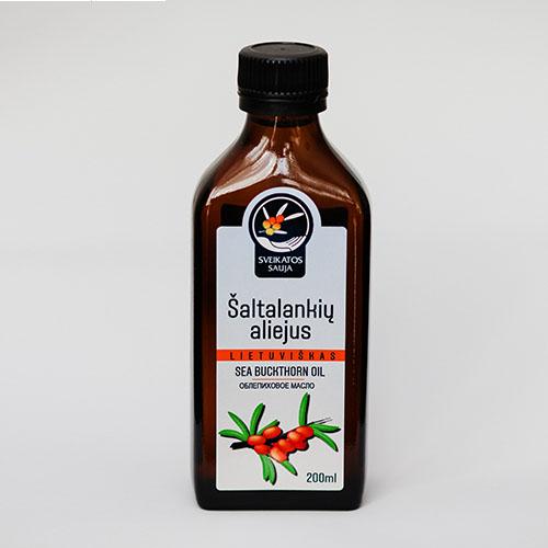 Šaltalankių aliejus 200 ml